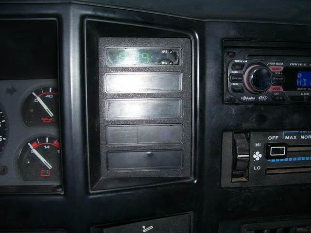 on 91 jeep cherokee wiring console