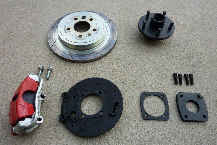 how to change rear rotors ba falcon ute